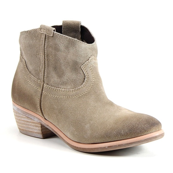 2a8202252 Diba Shoes - Diba True Sand Moon River Suede Ankle Boot Bootie